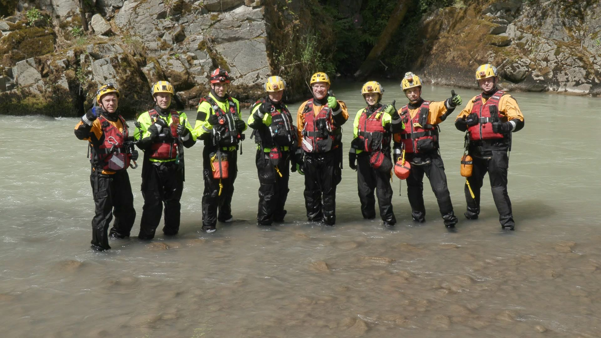 Swift Water Rescue Team